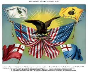 Historical Flags of the United States of America